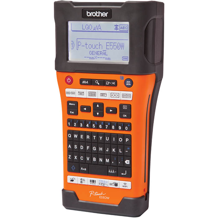 BROTHER PT-E550WVP P-TOUCH INDUSTRIAL LABEL MACHINE