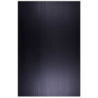 QUILL POLYPROPYLENE SIGN BOARD 5MM 500 X 770MM BLACK