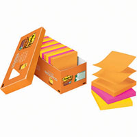 POST-IT R330-18SSAUCP SUPER STICKY POP-UP NOTES 76 X 76MM RIO DE JANIERO COLLECTION CABINET PACK 18
