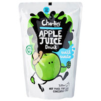 CHARLIE'S KIDS APPLE POUCH 200ML CARTON 10