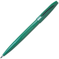 PENTEL S520 SIGN PEN 0.8MM GREEN