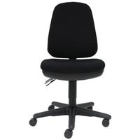 DAL SCOOP TASK CHAIR HIGH BACK BLACK