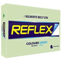 REFLEX COLOURS A3 COPY PAPER 80GSM GREEN PACK 500 SHEETS