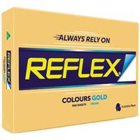 REFLEX COLOURS A3 COPY PAPER 80GSM GOLD PACK 500 SHEETS