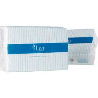LIVI ESSENTIALS MULTIFOLD TOWEL 1 PLY 200 SHEET CARTON 20