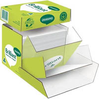 BRILLIANT A4 COPY PAPER UNWRAPPED 80GSM WHITE BOX 2500 SHEETS