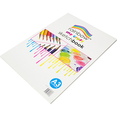 Rainbow My Craft Sketch Book 50 Page A3 Office National