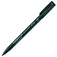 STAEDTLER 317 LUMOCOLOR PERMANENT MARKER BULLET 1.0MM BLACK