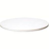 RAPIDLINE TABLE TOP ROUND 900MM WHITE