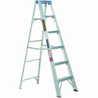 GORILLA INDUSTRIAL SINGLE SIDED STEP LADDER 120KG 1.8M