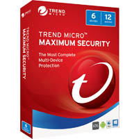 TREND MICRO MAXIMUM SECURITY 2017 12 MONTHS 1-6 DEVICES