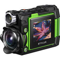 OLYMPUS TG-TRACKER TOUGH DIGITAL COMPACT CAMERA GREEN