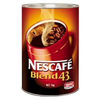 NESCAFE BLEND 43 COFFEE 1KG CAN